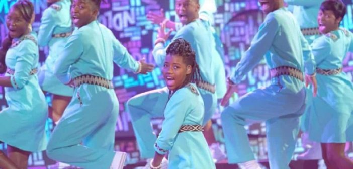 Ndlovu Youth Choir on the  'America's Got Talent' final