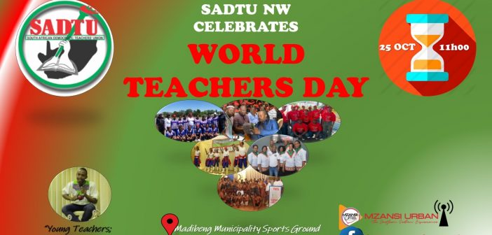 SADTU NW – World Teachers Day Celebration
