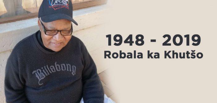 Tribute to the late Jacobous Kgalabe Mogašwa